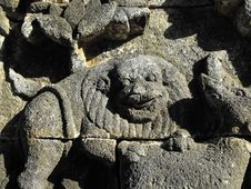 Free Borobudur Faces Stock Photography - 10252012