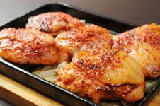 Free Chicken Wings Royalty Free Stock Image - 10252096