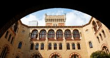 Free Neo-Byzantine Building Seen Through The Archway Royalty Free Stock Photo - 10253885