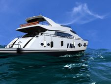 Free The Yacht Royalty Free Stock Photography - 10254007