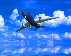 Free The  Plane Stock Photography - 10254032