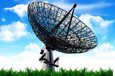 Free The Radar Royalty Free Stock Image - 10254126