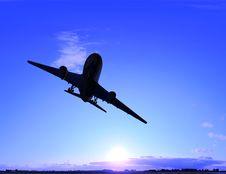 Free The  Plane Stock Image - 10254171