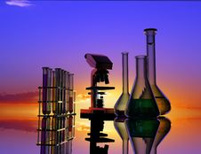 Free Chemical Devices Royalty Free Stock Photo - 10254305