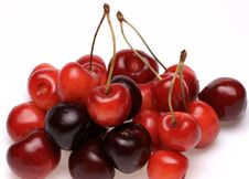 Free Red Sweet Cherry Royalty Free Stock Photo - 10255925