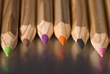 Free Colorful Pencils Stock Images - 10256004