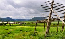 Free Shangri-La Ranch Scenery Stock Photography - 10256902