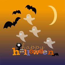 Free Have A Ghastly Halloween Royalty Free Stock Photography - 10257967