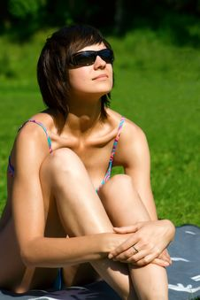 Free Sunbathing Royalty Free Stock Image - 10258016