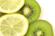 Free Lemon And Kiwi Stock Photo - 10259720