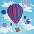 Free Hot Air Balloons Royalty Free Stock Photos - 10264608