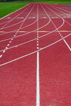 Free Running Track Royalty Free Stock Images - 10260569