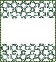 Free Floral Border/frame Stock Image - 10261531