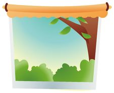 Free A Painting Of Tree Stock Images - 10262534