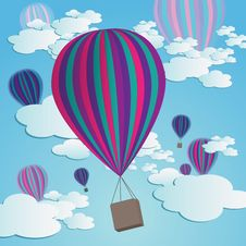 Free Hot Air Balloons Royalty Free Stock Photos - 10264608