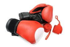 Free Boxing Gloves Royalty Free Stock Image - 10265156