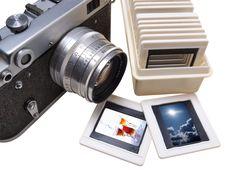 Free Rangefinder Camera And Slade Stock Image - 10265291