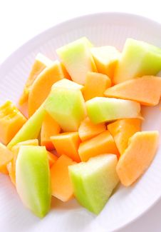Free Sliced Melon Stock Images - 10265394