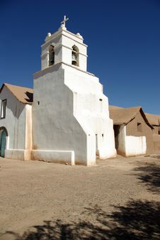 Old Church, Chile Royalty Free Stock Photography