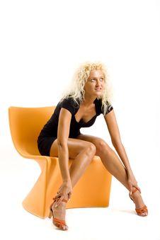 Free Fashion Portrait Of A Beautiful Female Stock Photo - 10266920