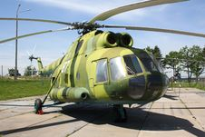 Free Russian Helicopter Stock Photography - 10266962