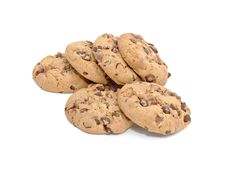 Free Chocolate Chunk Cookies Royalty Free Stock Photos - 10267168