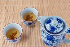Free Teapot And Teacups Stock Photography - 10268422