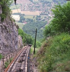 Free View From The St. Hilaire Funicular Stock Photo - 10268480