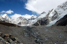Free Solo Khumbu Glacier Stock Photography - 10269952