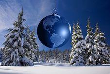 Free Winter, Christmas Tree, Tree, Sky Royalty Free Stock Image - 102634426