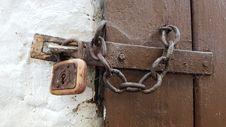 Free Wood, Lock, Metal Stock Photo - 102643110