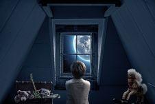 Free Blue, Room, Darkness, Light Stock Photos - 102645173