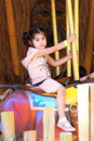 Free Girl In Merry Go Round Royalty Free Stock Photography - 10271967