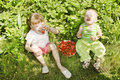 Free Child Eating Strawberries. Royalty Free Stock Photos - 10273638