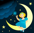 Free Fairy Girl Royalty Free Stock Photo - 10278375