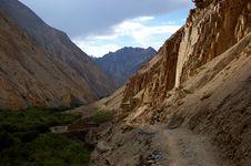 Free Himalyan Path Royalty Free Stock Photos - 10270048