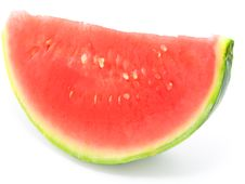 Free Slice Of Water-melon Royalty Free Stock Photos - 10270588