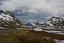 Norway. Summer In Mountains Royalty Free Stock Photos