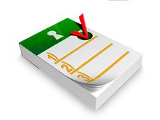 Free Notepad Stock Image - 10271361