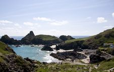 Free Footpath To Kynance Cove Stock Images - 10271694