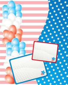 Free American Independence Day Card Stock Images - 10271964