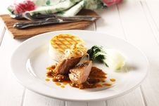 Free Duck Breast Steak Stock Photography - 10274642