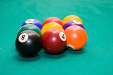 Free Billiard Balls Stock Images - 10275574