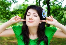 Free The Girl Close Up Stock Photo - 10275580