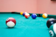 Free Billiard Balls Stock Photo - 10275600