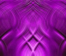 Free Fantastic Violet Interlocking Threads Stock Image - 10275971