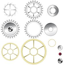 Free Gears Stock Photography - 10276422