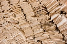 Free Pile Of Wooden Shingles Royalty Free Stock Photo - 10276815