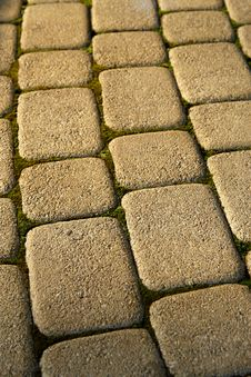 Free Pavement Stones Royalty Free Stock Image - 10277246