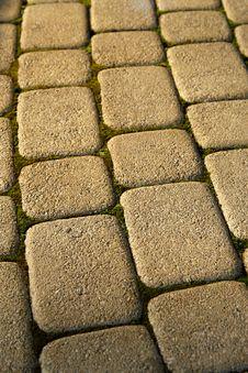 Pavement Stones Royalty Free Stock Image